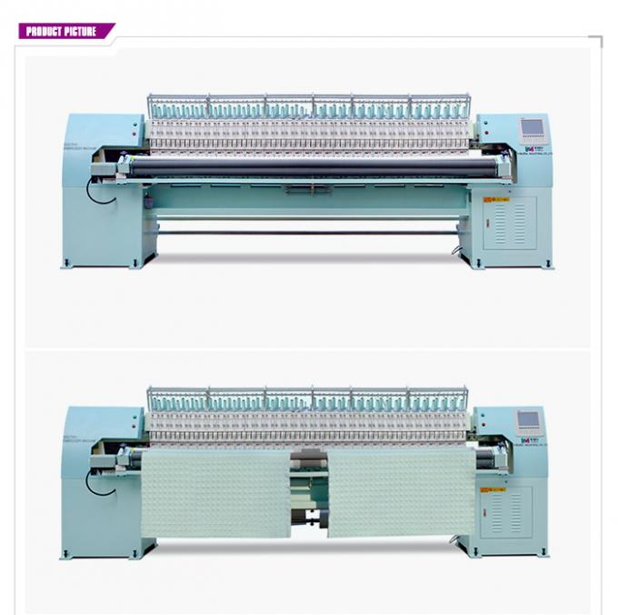 50 Needles Single Color Quilting And Embroidery Machine With Low Vibration