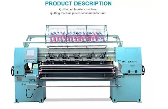 5.2kw Multi Needle Quilting Machines In Decorations Luggage And Garment