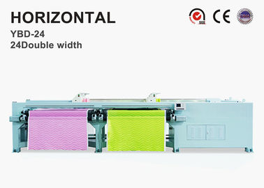 Effective Embroidery Quilt Making Machine Safe Operation 5kw Power Long Lifespan