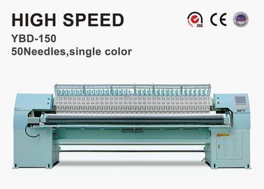66 Needles 1 Color High Speed Automatic Quilting Machines With Embroidery Function