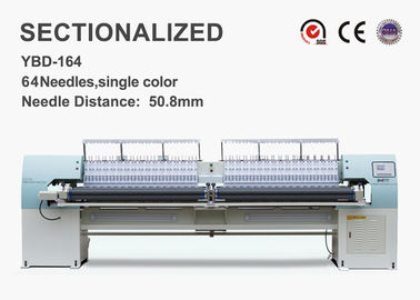 High Speed Sectionalized Embroidery Quilt Making Equipment 250mm X Area