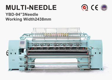 4.5kw Computerized Multi Needle Quilting Machine 360 Degree Random Quilting