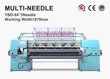 China Durable Computerized Chain Stitch Multi Needle Quilting Machine With Simulation Display supplier