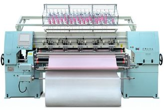 China Effective Computerized Multi Needle Quilting Machine With Tensile Motor supplier