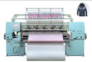 Jacket Padding 64 Inch High Speed Quilting Machine With Pattern Patch Up Function