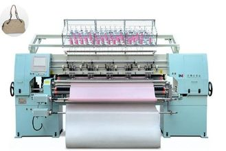 Multi Needle Computer Quilting Machine For Hand Bags 400-600n/M High Speed
