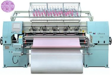 L3800*W1300*H1700mm Computerized Chain Stitch Quilting Machine For Bed Sheet
