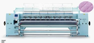 Garment Industrial Quilting Machine , Multi Needle Quilting Machine CNC System