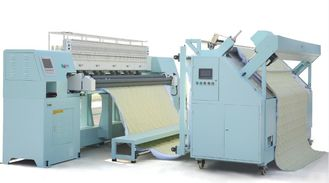 70 Inch Garment Manufacturing Machines , Rotary Shuttle Quilting Machine