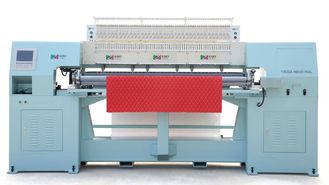 China Effective Sofa Cover High Speed Quilting Machine With Large Rotary Hook supplier