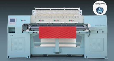 5.5kw 2 Needles Rotary Shuttle Quilting Machine For High Grade Mattress
