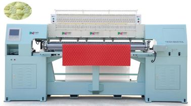 Low Noise Multi Head Mattress Quilting Machine With Large Rotary Hook