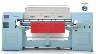 Rotary Shuttle Bed Making Machine , Chain Stitch Quilting Machine 700/RPM Sewing Speed