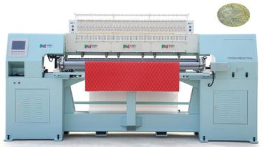 "110"" 2 Needle Automated Quilting Machine , CNC Quilting Machine With High Precision"