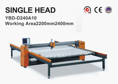 Head Moved Single Needle Quilting Machine , Industrial Quilting Machine 4 Servo Motors