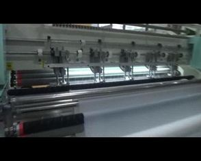 Shuttle High Speed Quilting Machine , Multi Needle Quilting Machine Easy Loading Fabric