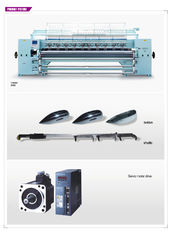 China 128 Inch Industrial Shuttle Quilting Machine High Stability For Bedcover supplier