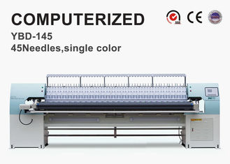 China 45 Needles Computerized Quilting Machines Multi Head For Quilting Jackets supplier