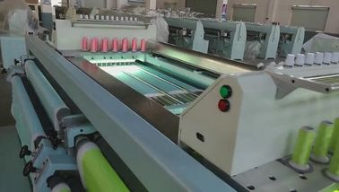 China 30 Heads Horizontal Computerized Quilting And Embroidery Machine Straight Lines Sewing supplier