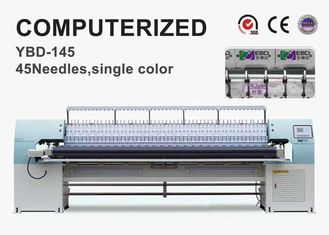 34 Heads Garment Manufacturing Machines , Computer Embroidery Machine With Quilting