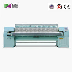 China 5.5kw Single Color Computerized Quilting And Embroidery Machine For Home Textile supplier