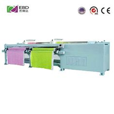 Fast Speed Horizontal Quilting Embroidery Machine Double Width 50.8mm Needle Distance