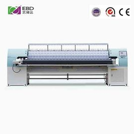 68 Needles High Speed Quilting Machine , Commercial Quilting Machine With Embroidery Function