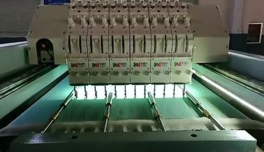 5KW Horizontal Quilting Embroidery Machine Single Head Integral Steel Structure