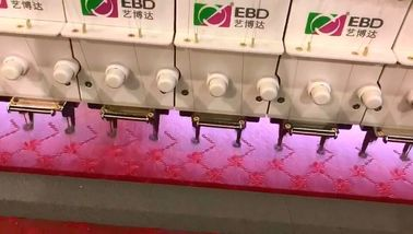 Two Servo Motor quilting with embroidery machine For Foot Pad / Bed Cover