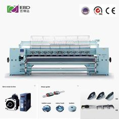 China AC 380V Computerized Quilting Machines For Apparel Fabrics Sewing Speed 400-500n/M supplier