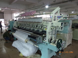 Automatic Computerized Multi Needle Quilting Machine For Jacket Padding / High Precise Quilts