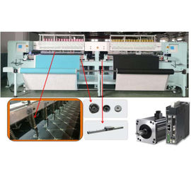 Double Worktable / Controller Rotary Hook Quilting Machinery 5.5kw  380V 50HZ